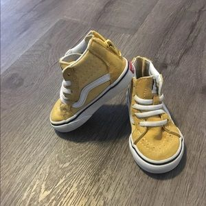 3740e6fb45 Vans Shoes - Yellow toddler vans